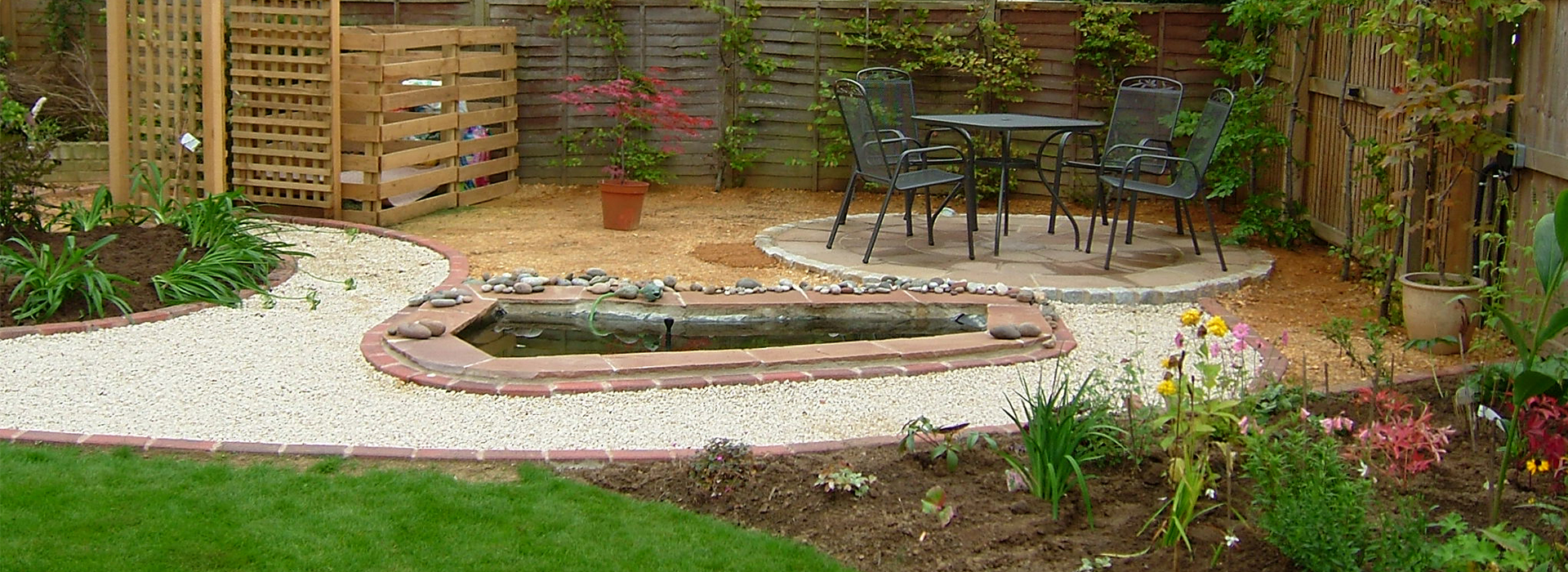 Somerset and oxford landscaping andrew tabor for Garden design yeovil