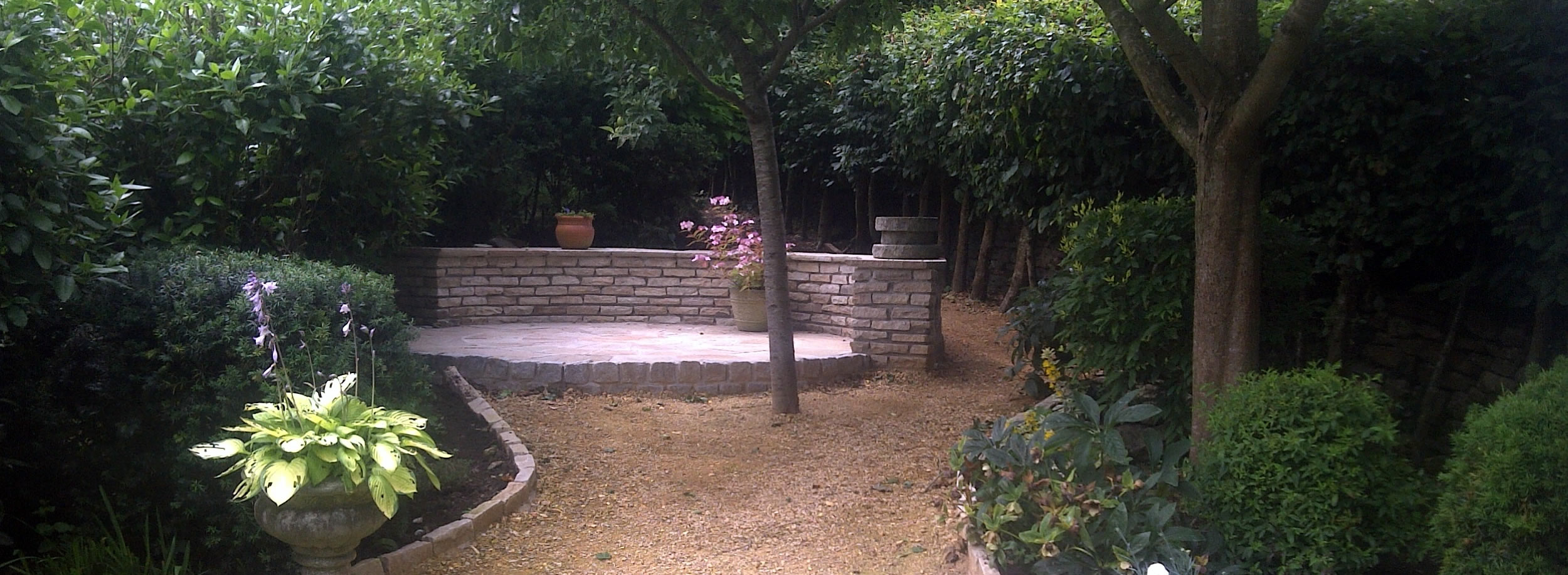 Hard landscaping somerset decking fencing patios more for Hard landscaping