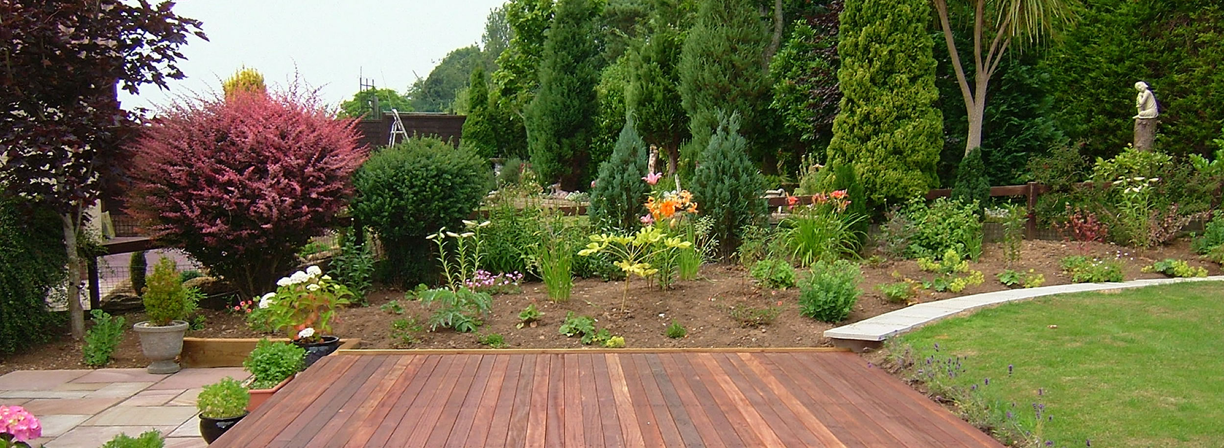 Beautiful Balau hardwood decking